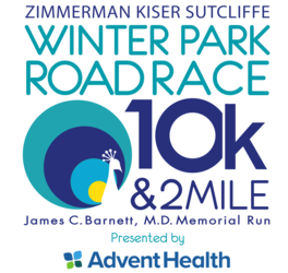 ZKS Winter Park Road Race 10k & 2 Mile presented by AdventHealth (Running Series Grand Finale)