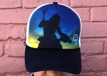 King Neptune Boco Gear Trucker Hat