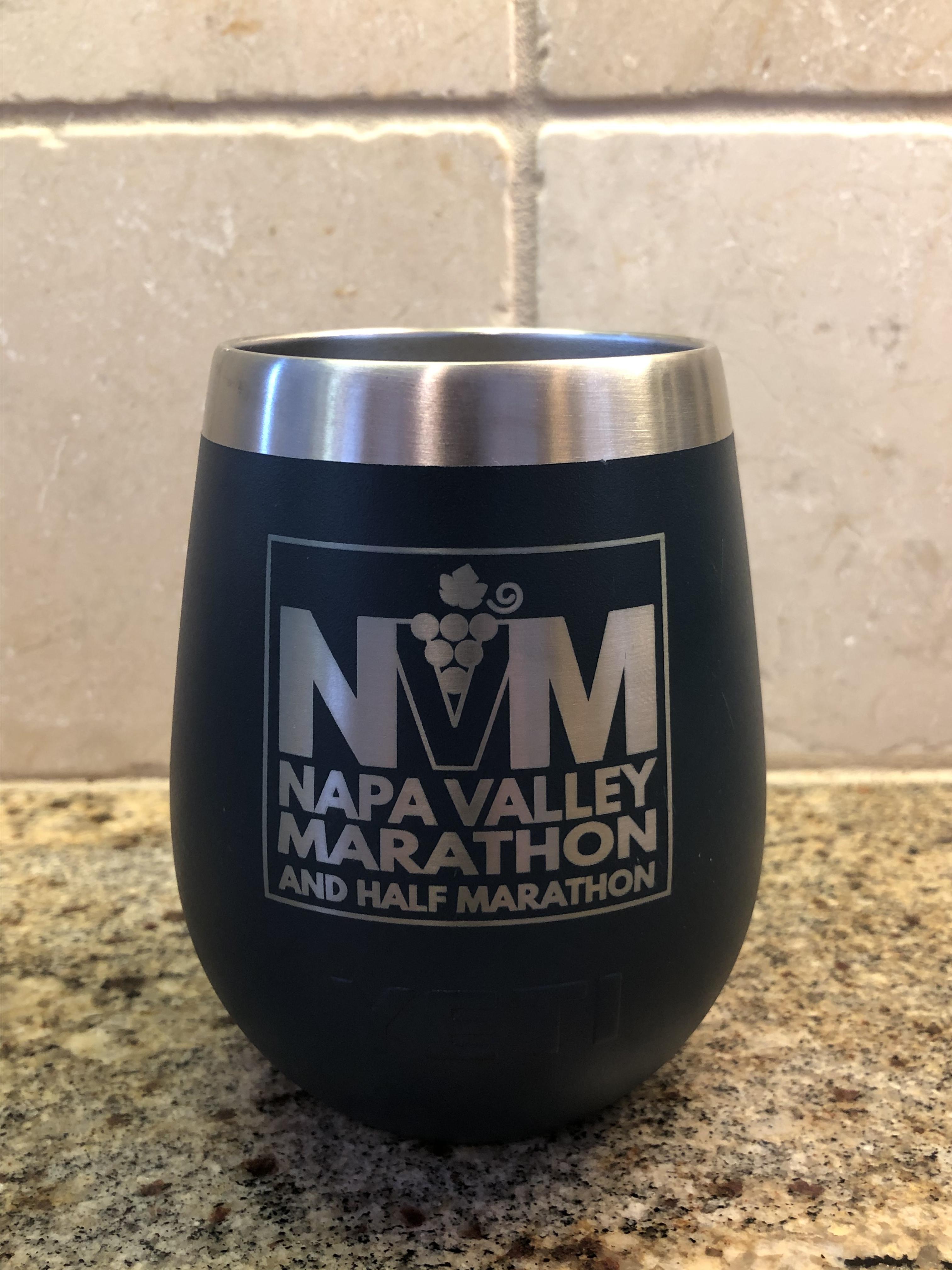 YETI Rambler Insulated Wine Tumbler (Navy)