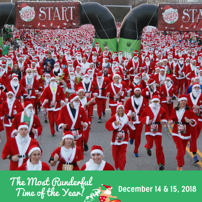 The Great Outdoor Provision Co. Surf-N-Santa 5 Miler presented by Bon Secours In Motion
