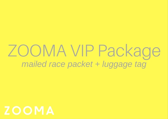 ZOOMA VIP Mailed Packet