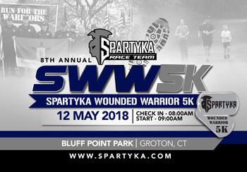 Spartyka Wounded Warrior 5k Connecticut