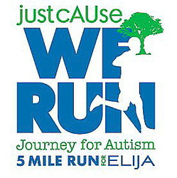 just cAUse We Run Journey for Autism 5 Mile Run for Elija