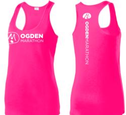 Pink Ogden Marathon Tank