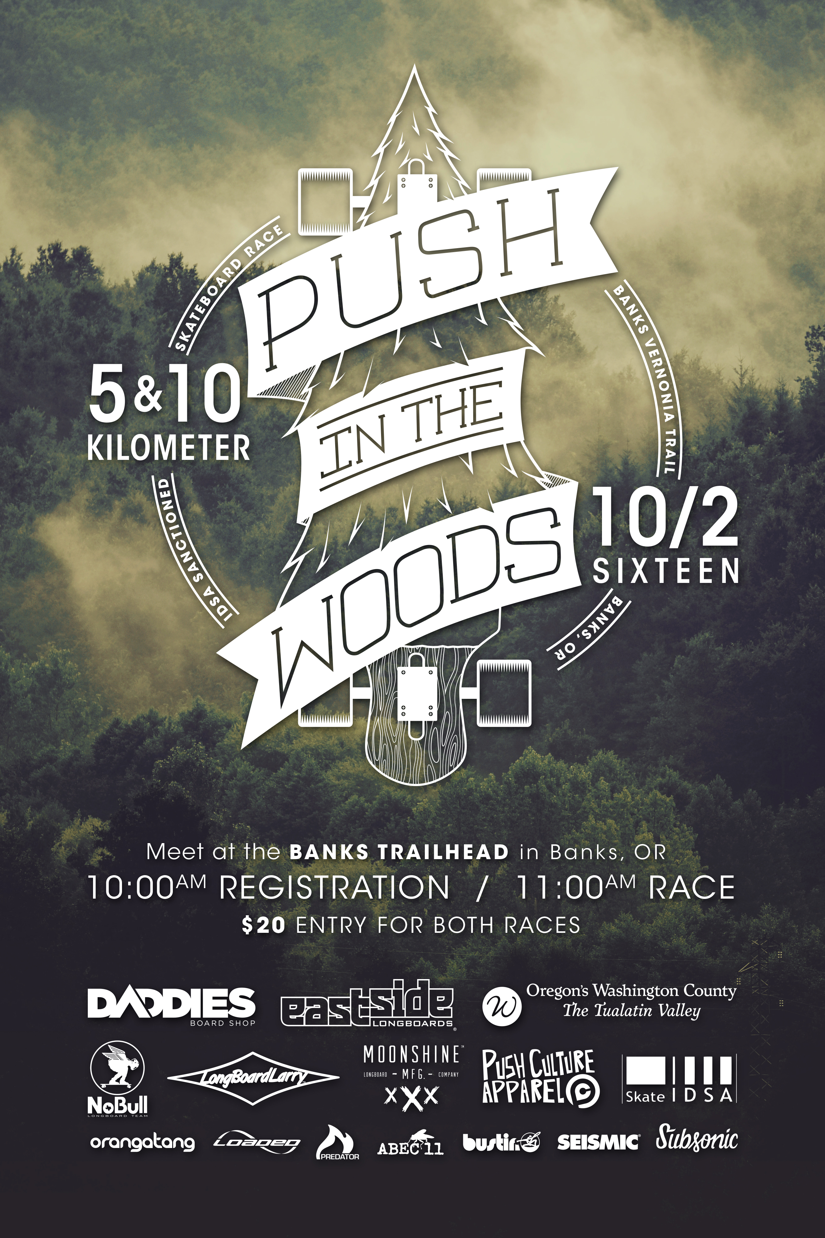 Push In The Woods 2016