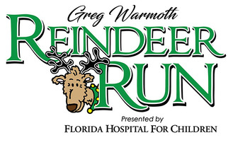 Greg Warmoth Reindeer Run presented by Florida Hospital for Children logo
