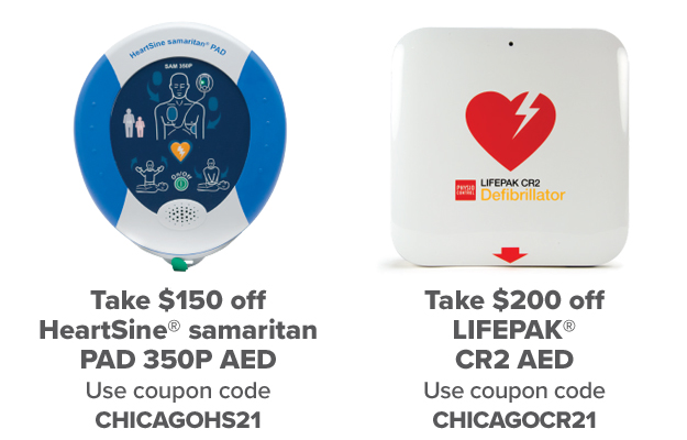 Save Up To $200 on an AED