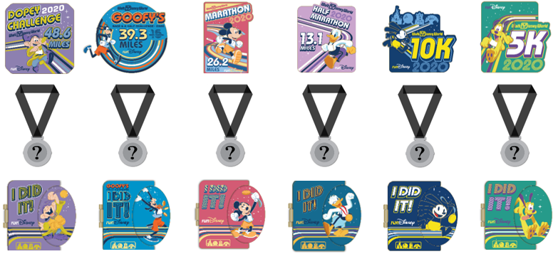 Dopey Challenge | Pin Bundle