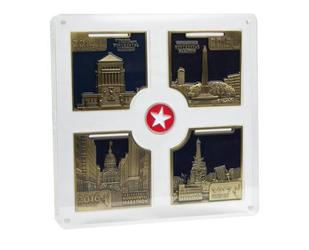 Four Year Series Square Medal Display Case