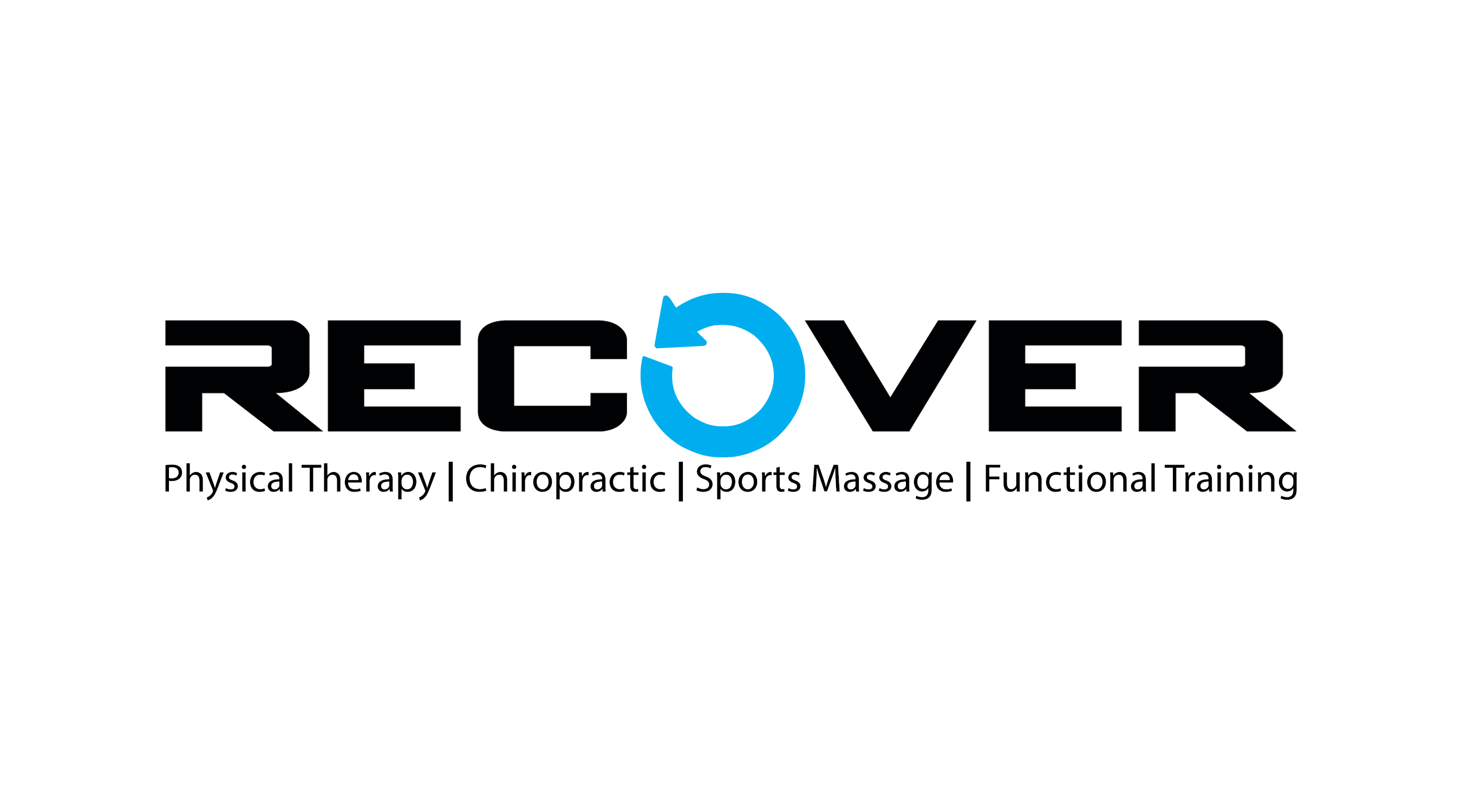 50% OFF AT RECOVER Logo