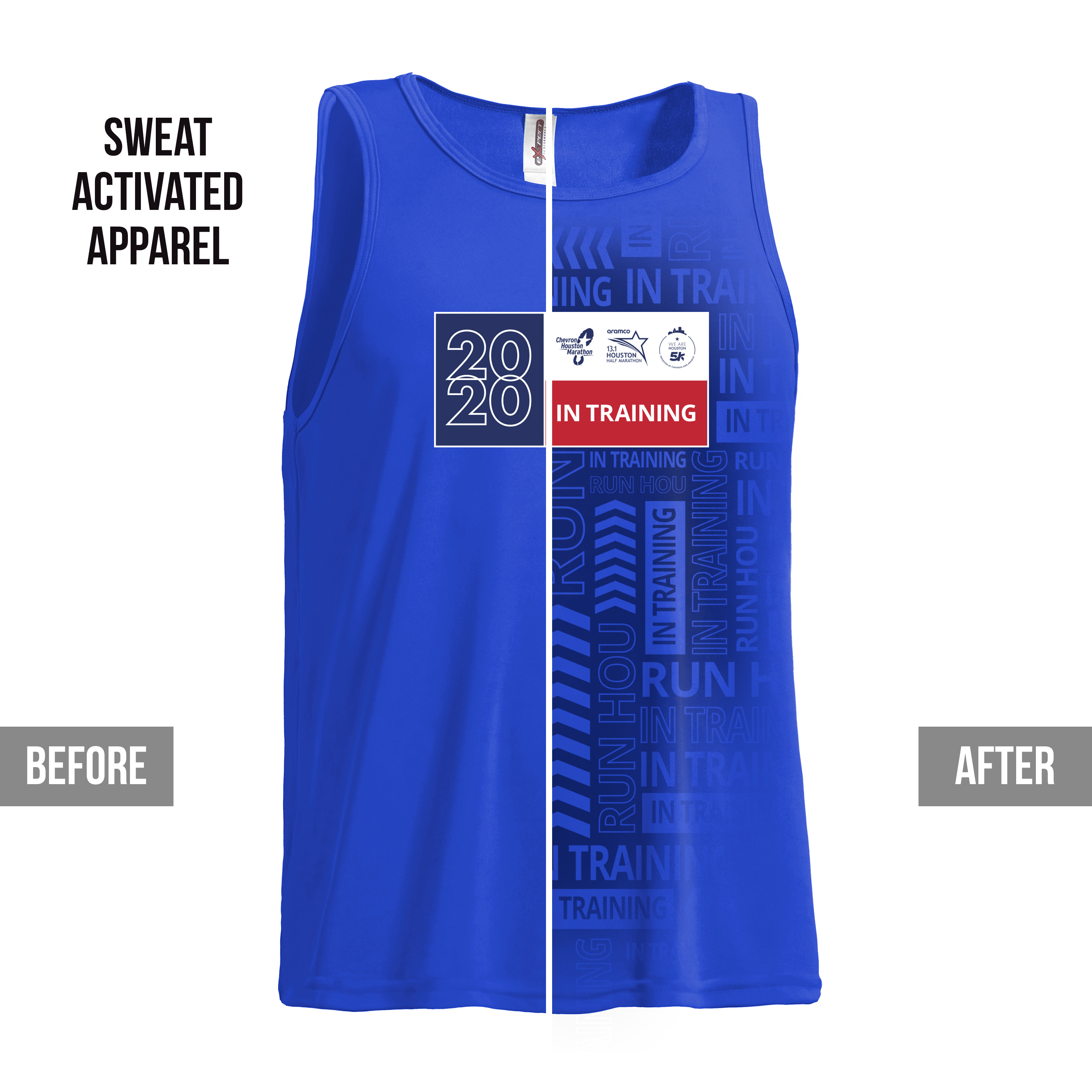 Royal Blue Training Tank