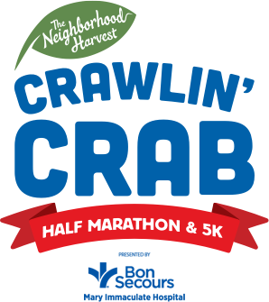 The Neighborhood Harvest Crawlin' Crab Half Marathon and 5K