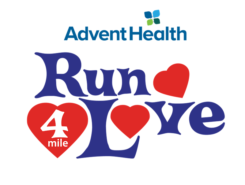 Run 4 Love 4 Mile presented by AdventHealth (Running Series Event #5)