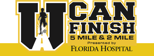 U Can Finish 5 Mile & 2 Mile presented by Florida Hospital (Running Series Event #3)