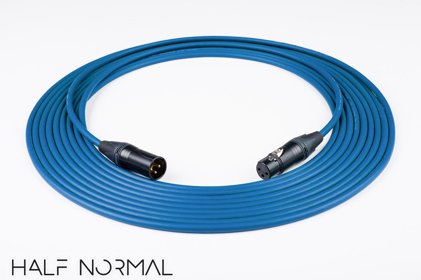 100\' Mogami 2534 Quad Balanced Cable Neutrik Gold XLR Male to XLR ...