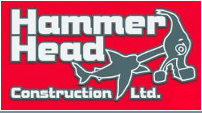 Website for Hammer Head Construction Ltd.