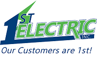 Website for 1st Electric Inc.