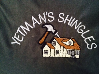 Website for Yetman's Shingles Ltd.