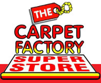 Website for The Carpet Factory Super Store