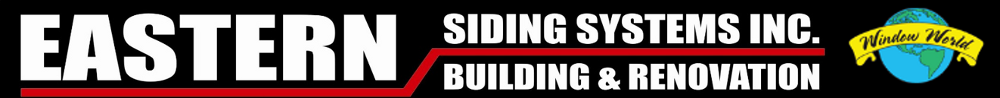 Website for Eastern Siding and Window World