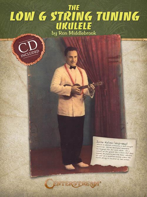 the low g string tuning ukulele ron middlebrook tab book cd new 1574242695 ebay. Black Bedroom Furniture Sets. Home Design Ideas