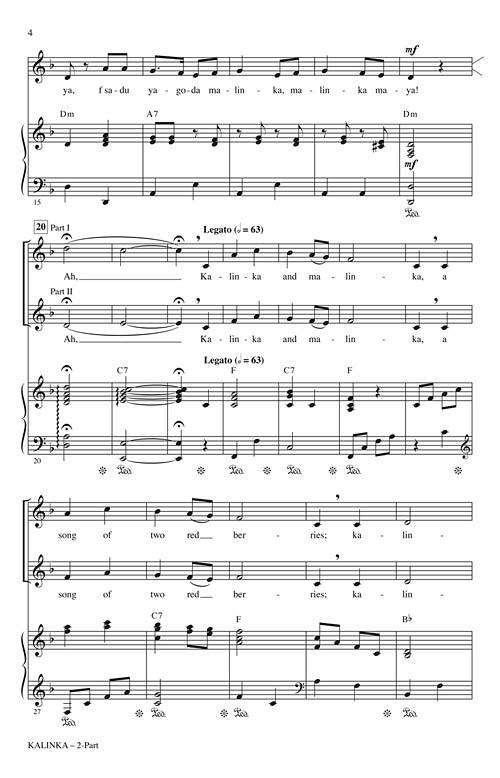 Kalinka Sheet Music by Audrey Snyder (SKU: 00116796
