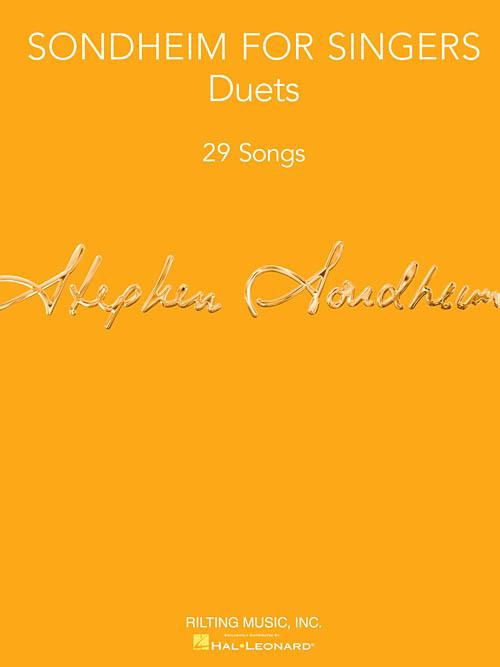Stephen Sondheim Sondheim For Singers Duets Singers Com