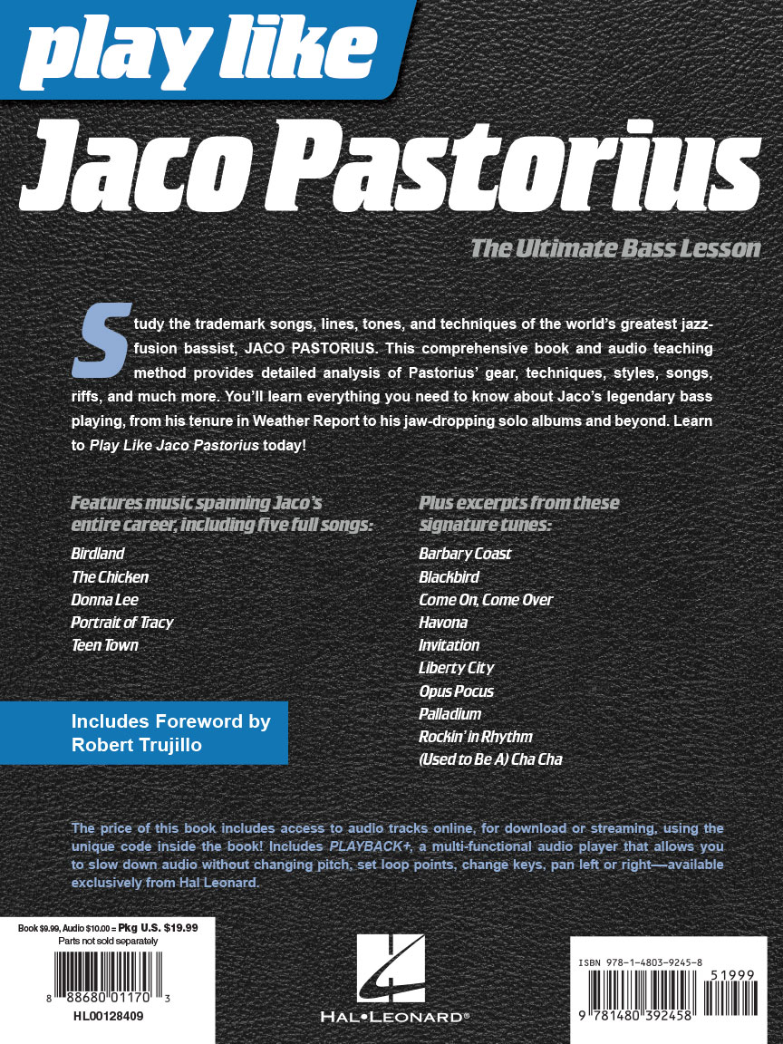 Jaco Pastorius Book