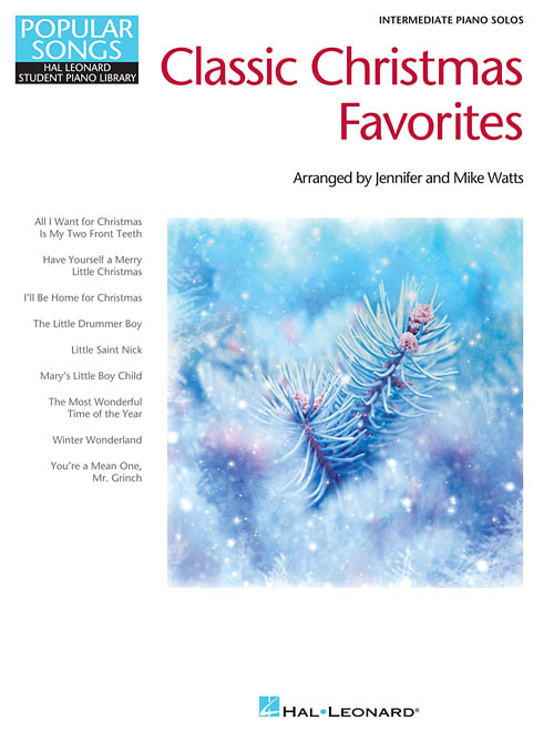 Classic Christmas Favorites, Educational Piano Library - Hal Leonard Online