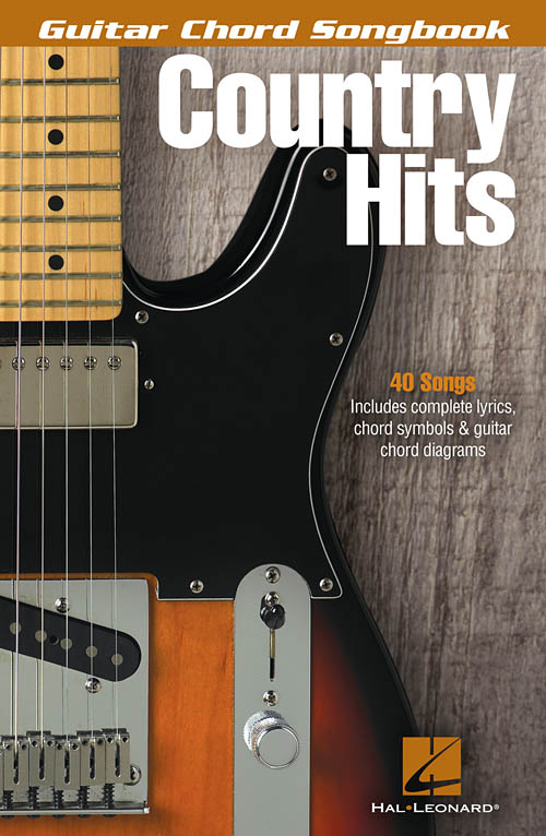 Country Hits Guitar Chord Songbook Guitar Chord Songbook Hal