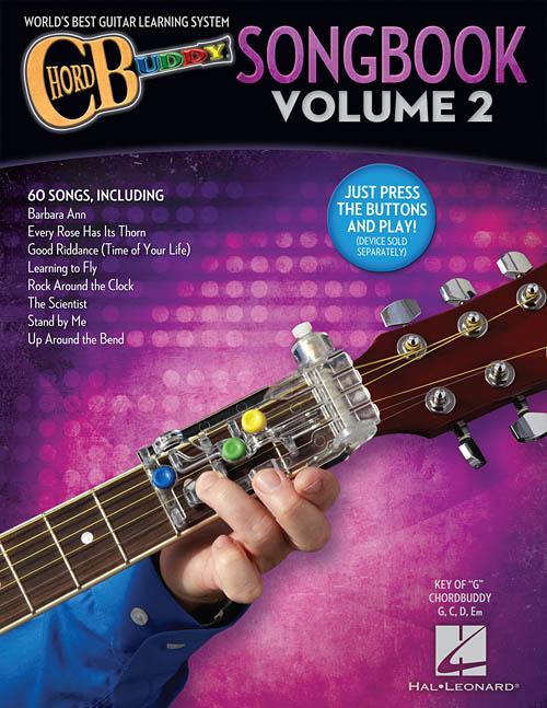 Chordbuddy Guitar Method Songbook Volume 2 Chord Buddy Hal