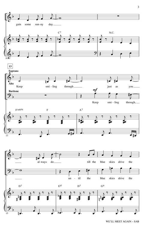 well meet again instrumental version