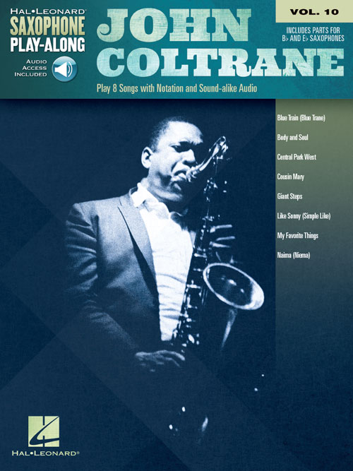 John coltrane omnibook bass clef na freenote john coltrane saxophone play along volume 10 fandeluxe Image collections