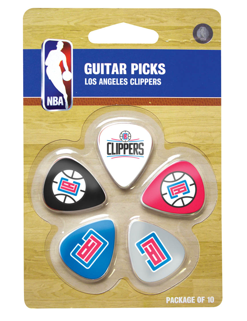 woodrow los angeles clippers guitar picks gpnba13. Black Bedroom Furniture Sets. Home Design Ideas