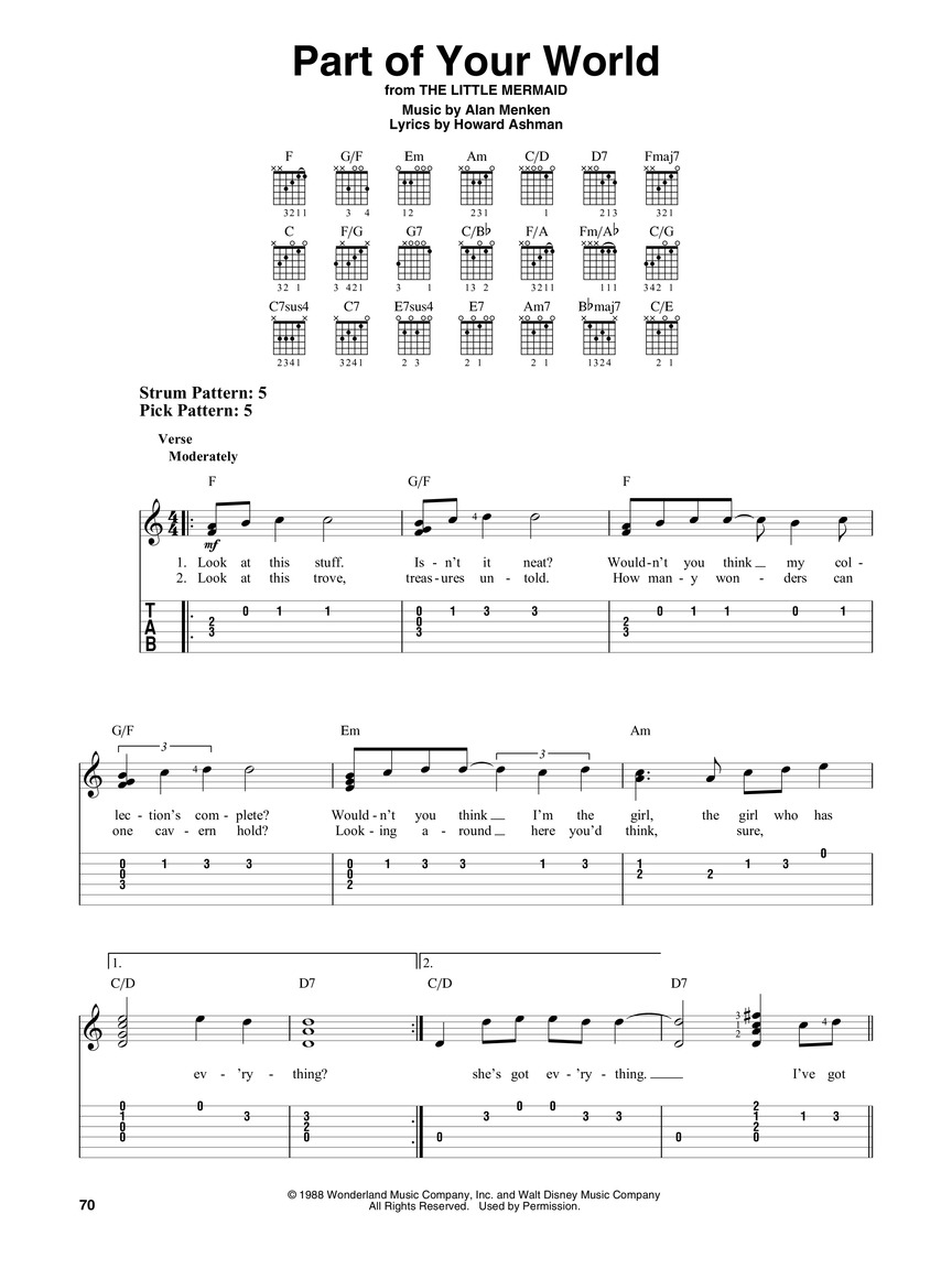 We Belong Together Chords   Sheet and Chords Collection