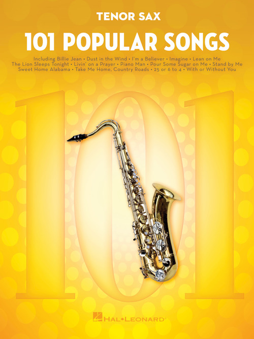101 Popular Songs, 101 Songs - Hal Leonard Online