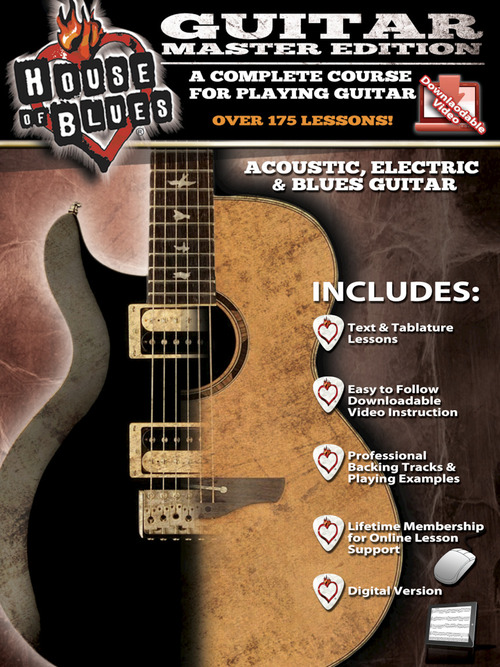 House Of Blues Guitar Master Edition Rock House Hal Leonard Online