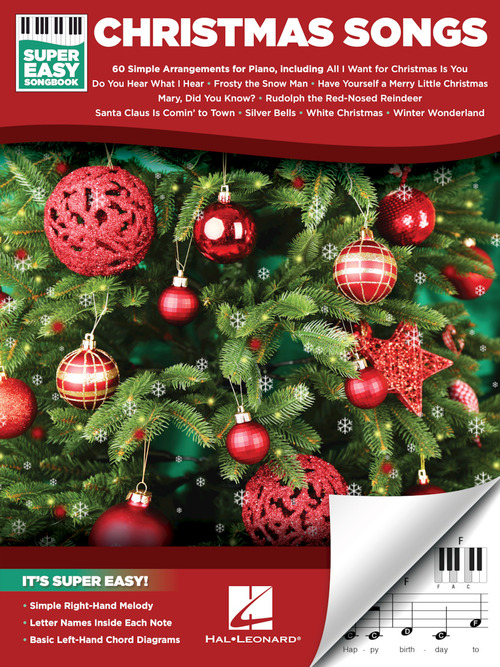 christmas songs super easy songbook enlarge cover image - Super Simple Christmas Songs