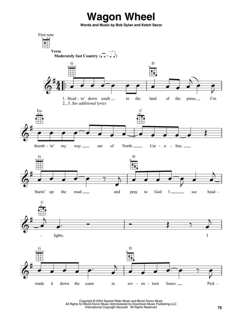 Campfire Songs For Banjo Sheet Music (SKU: 00289599