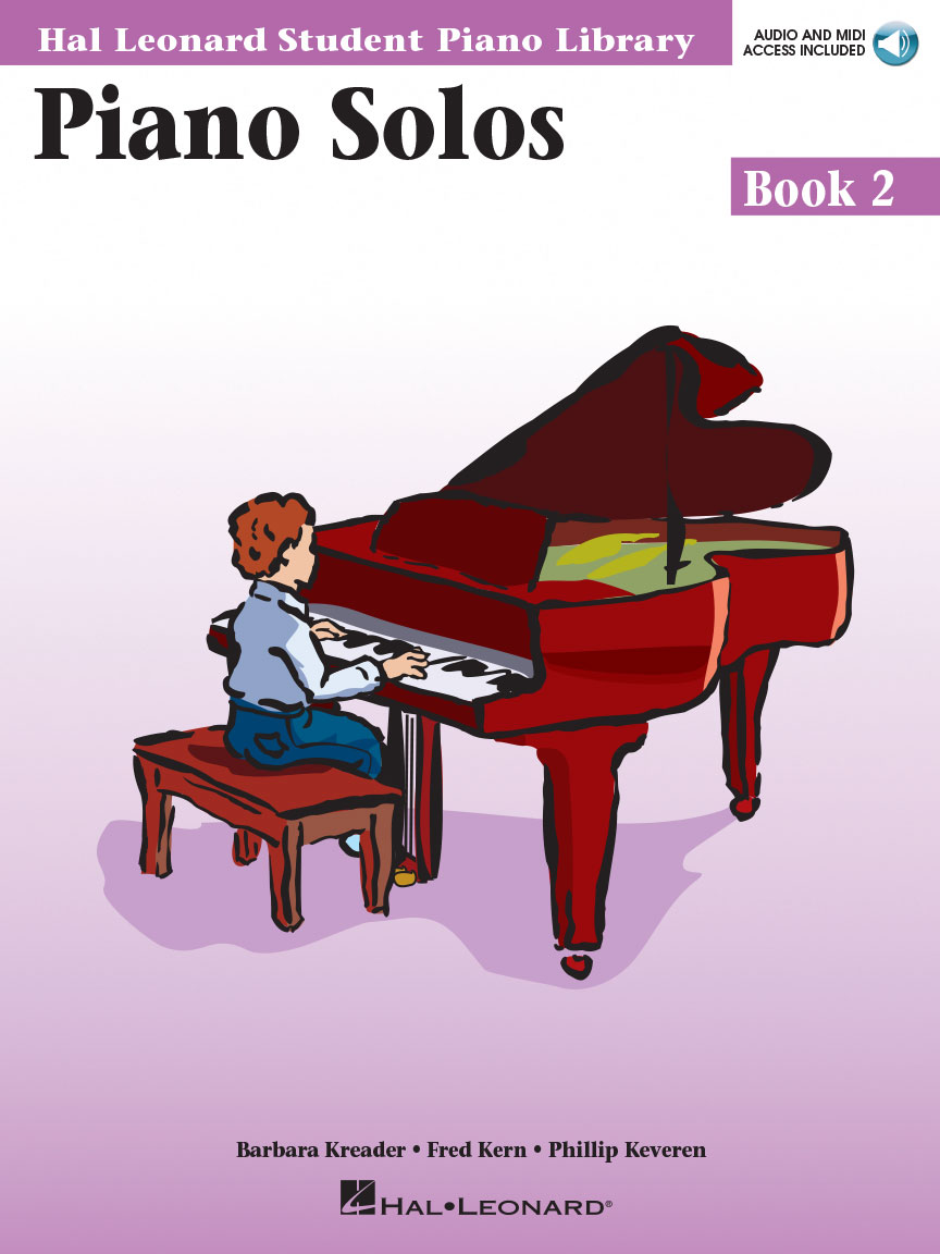 Piano Solos Book 2 Book With Online Audio Hal Leonard