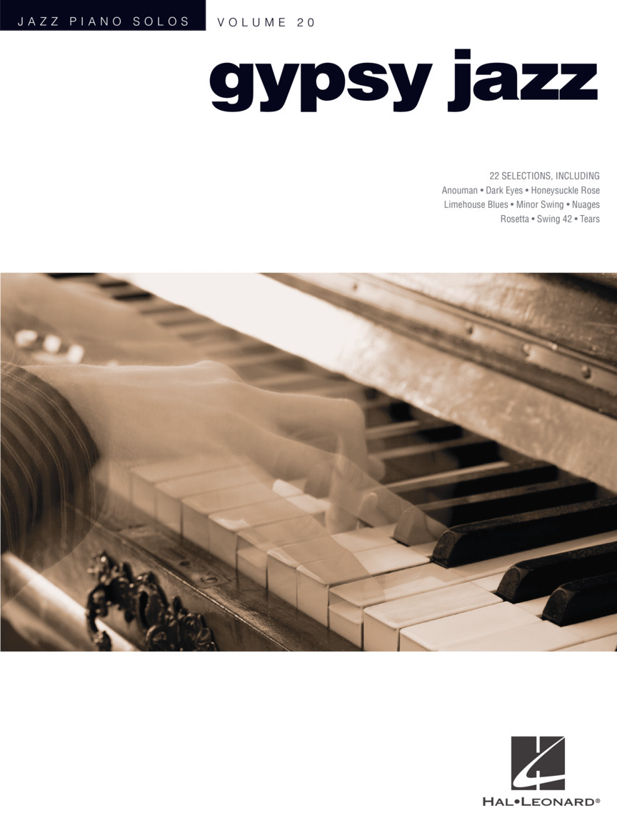Gypsy Jazz : Jazz Piano Solos Series Volume 20 : Jazz Piano Solos Series :  Piano Solo : # 307289