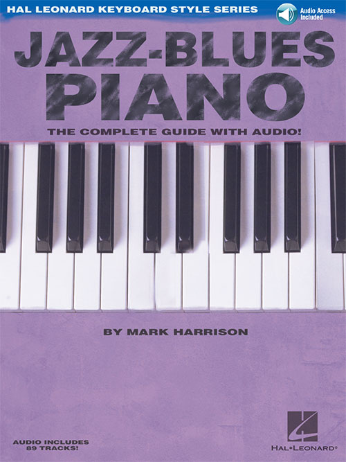 Bebop jazz piano john valerio na freenote jazz blues piano mark harrison the complete guide with audio hal leonard keyboard style series fandeluxe Images