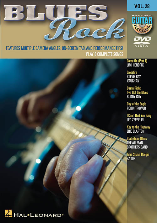 blues rock guitar play along 8 songs dvd new ebay. Black Bedroom Furniture Sets. Home Design Ideas