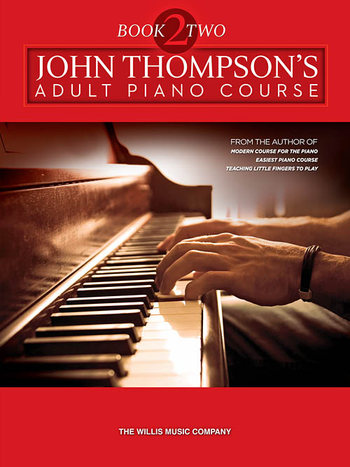 Modern Book Cover Keyboard : John thompson s adult piano course book willis hal