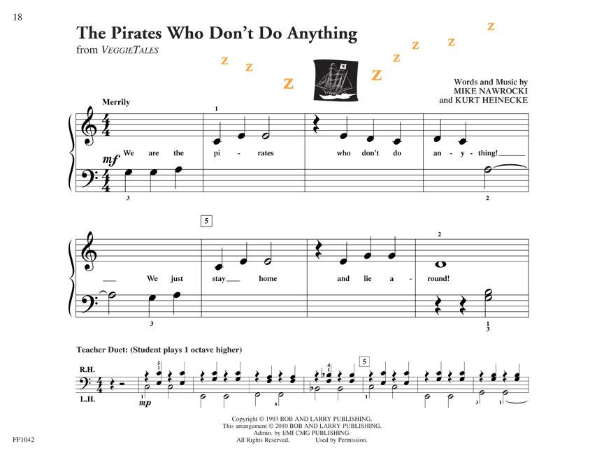 PreTime Piano Popular : Primer Level : Book : # FF1042