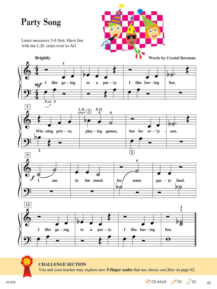 Level 1 - Lesson Book - 2nd Edition - Piano Adventuresr