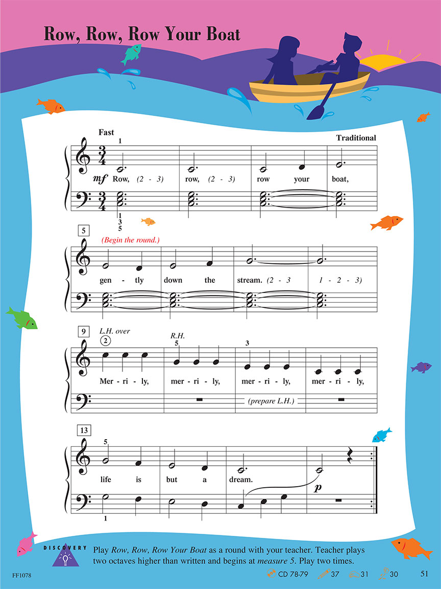 Level 1 - Lesson Book - 2nd Edition - Piano Adventuresr