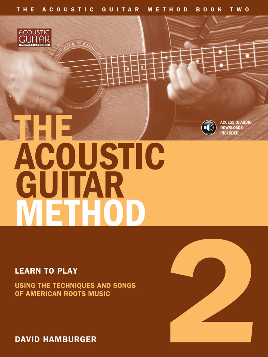the acoustic guitar method book 2 guitar tab by david hamburger book cd pack 695649. Black Bedroom Furniture Sets. Home Design Ideas