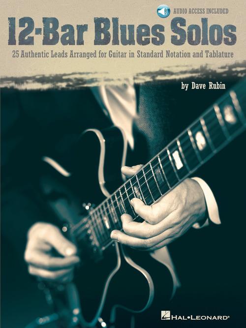 12 bar blues solos guitar collection hal leonard online. Black Bedroom Furniture Sets. Home Design Ideas
