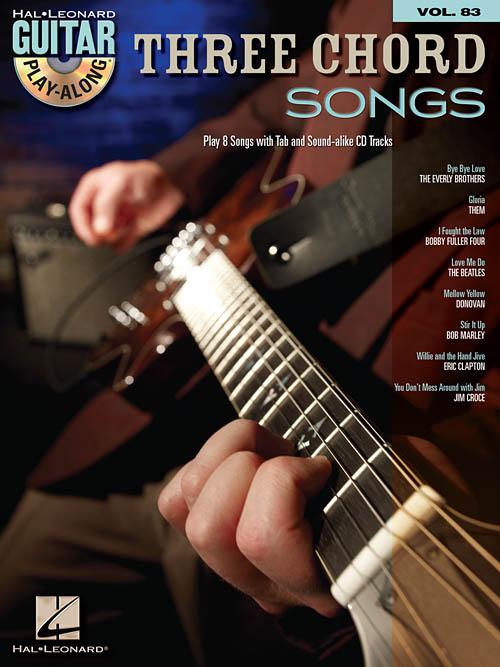Three Chord Songs Guitar Play Along Hal Leonard Online